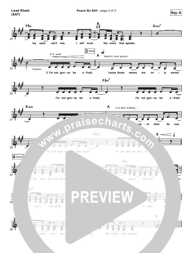 Peace Be Still Orchestration & Finale (The Belonging Co / Lauren Daigle)
