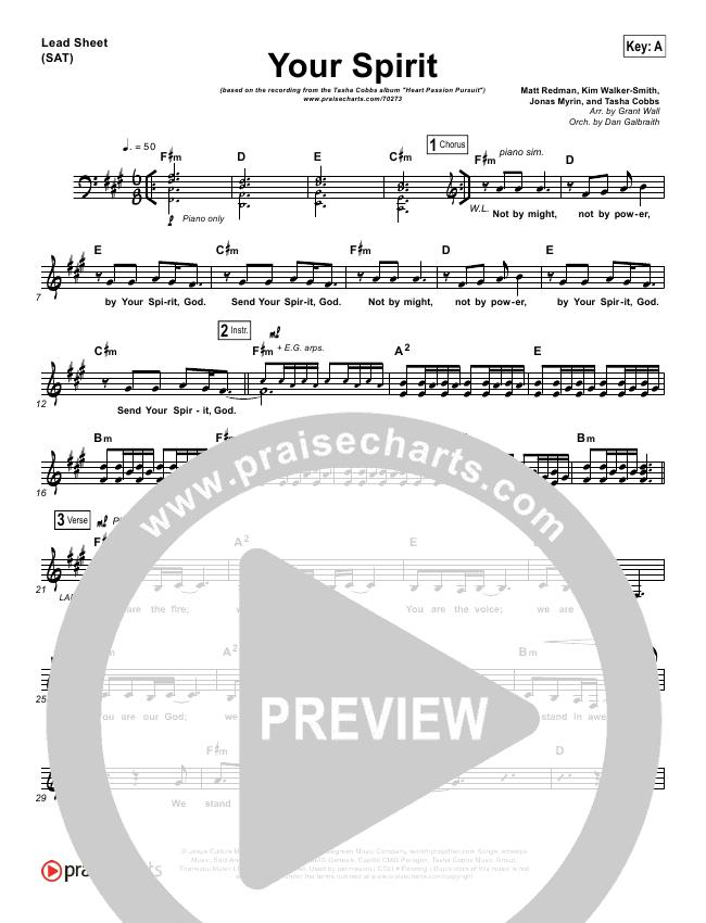Your Spirit Orchestration & Finale (Tasha Cobbs / Kierra Sheard)