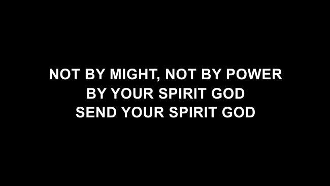 Your Spirit Lyric Slides (Tasha Cobbs / Kierra Sheard)
