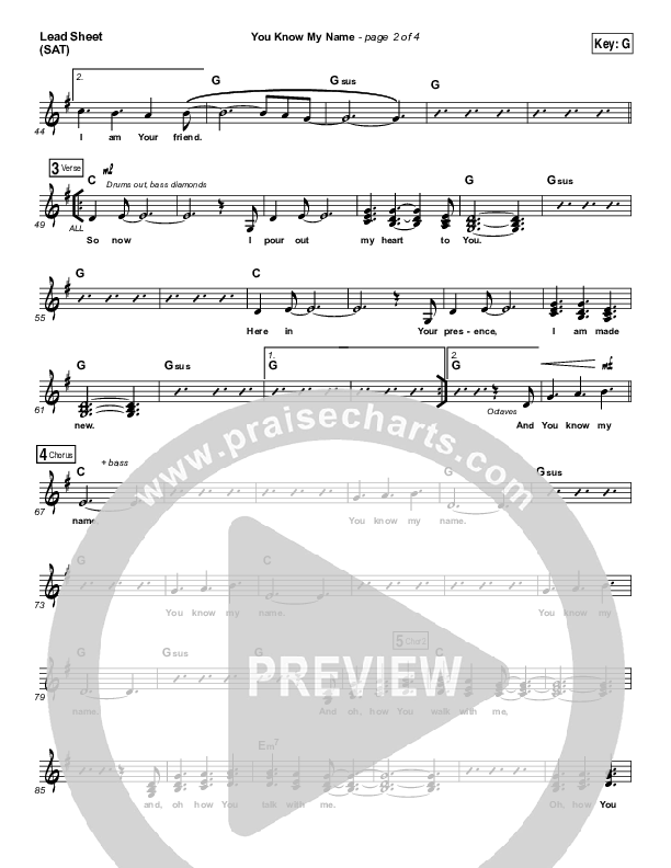 You Know My Name Orchestration (Tasha Cobbs / Jimi Cravity)