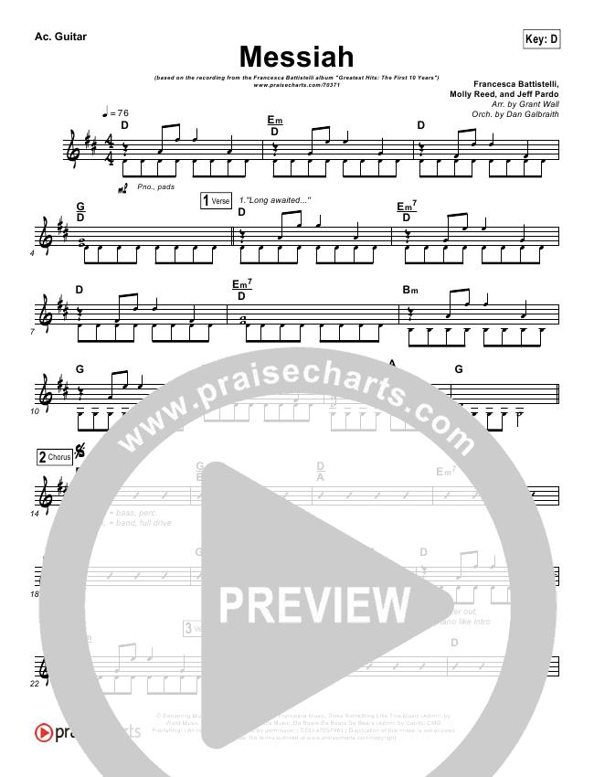 Messiah Rhythm Chart Francesca Battistelli Praisecharts