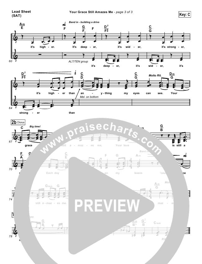 Your Grace Still Amazes Me Orchestration (with Vocals) (Phillips Craig & Dean)