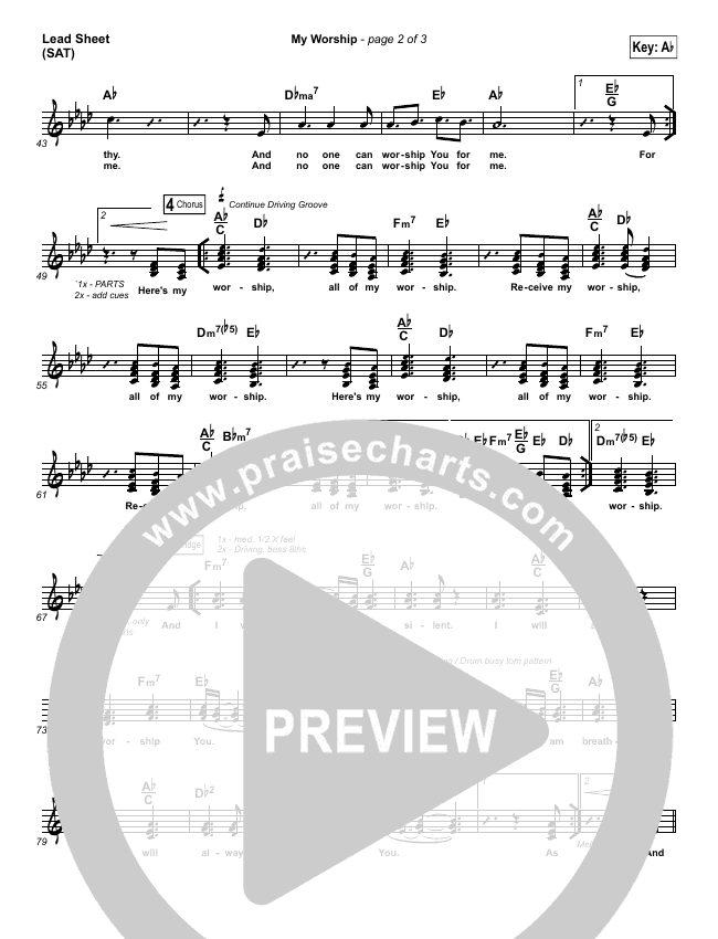 praise and worship lead sheets pdf
