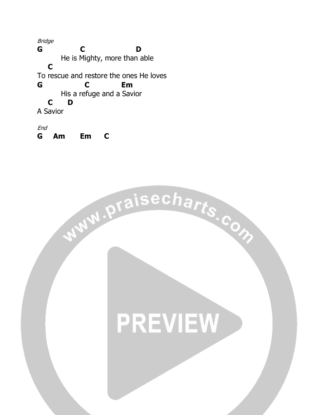 God Is Chord Chart (Holly Starr)