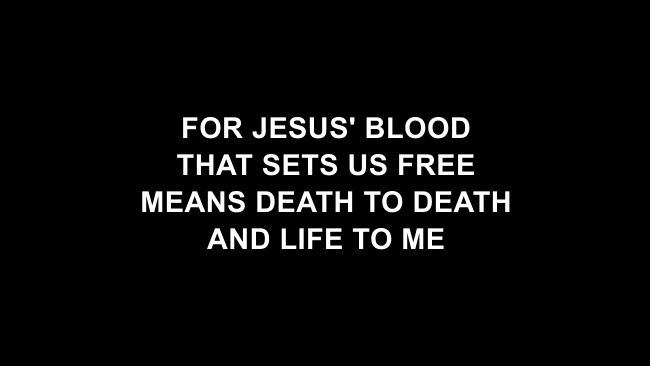 The Passion Lyric Slides (Hillsong Worship)
