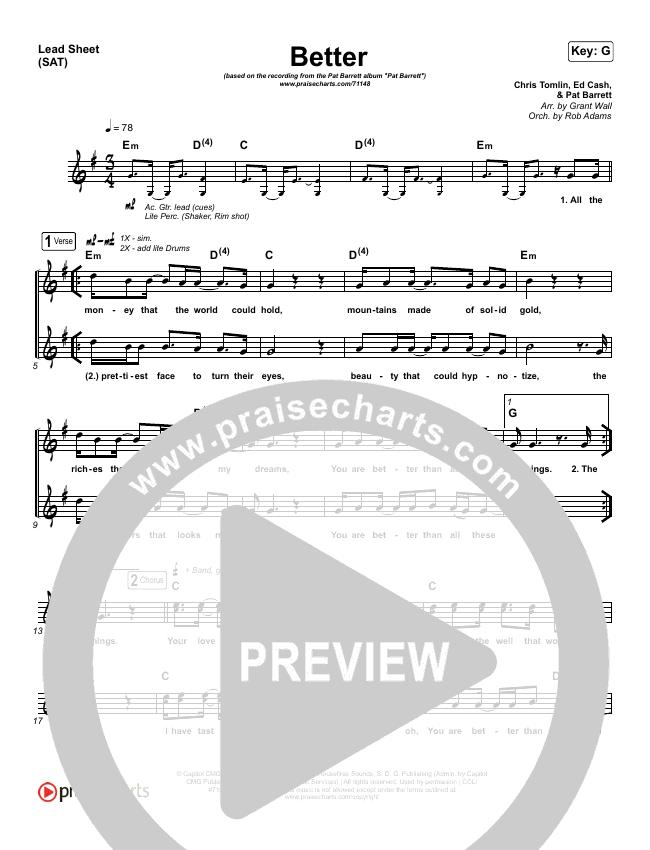 Better Orchestration & Finale (Pat Barrett)