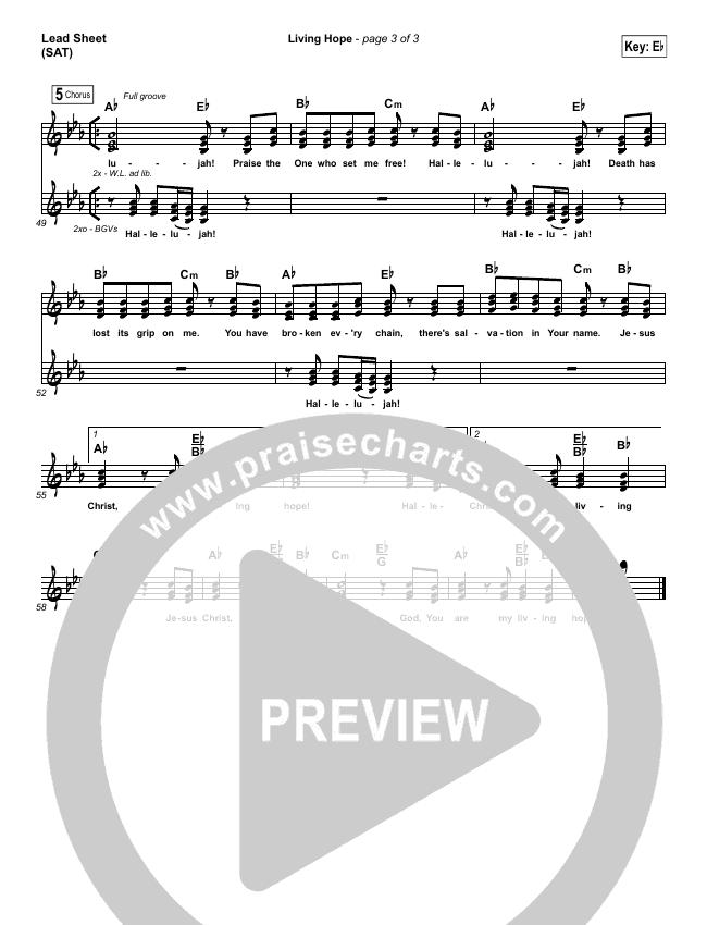 Living Hope Orchestration & Finale (Phil Wickham)