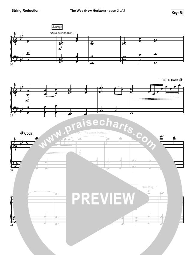 The Way (New Horizon) String Pack (Pat Barrett)