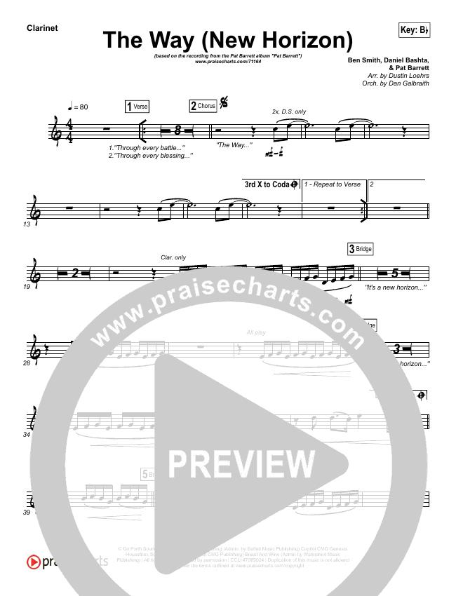 The Way (New Horizon) Wind Pack (Pat Barrett)