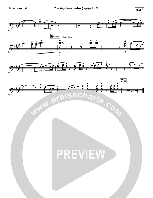 The Way (New Horizon) Brass Pack (Pat Barrett)