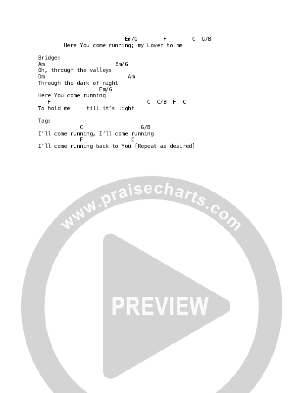 Song of Solomon Chord Chart (Martin Smith)