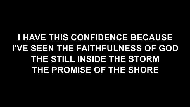 Not Afraid Lyric Slides (Jesus Culture / Kim Walker-Smith)
