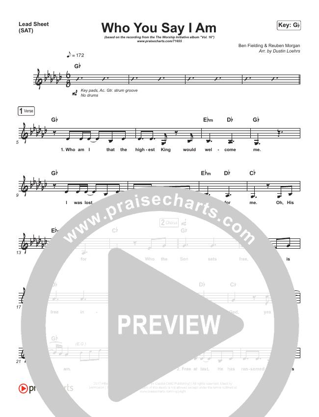Son Of Heaven Piano/Vocal (SATB) (Brandon Lake)