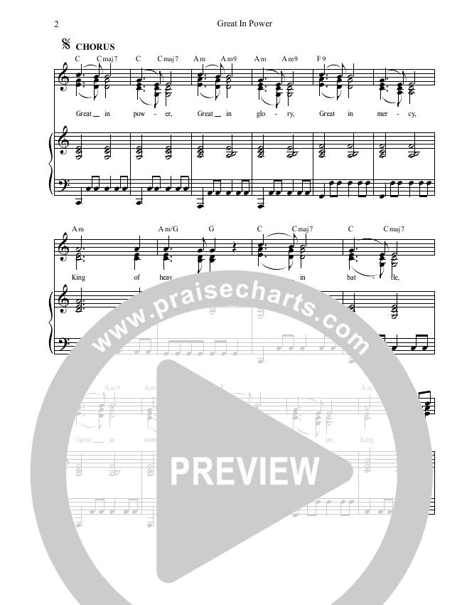 Great In Power Lead & Piano (Dennis Prince / Nolene Prince)