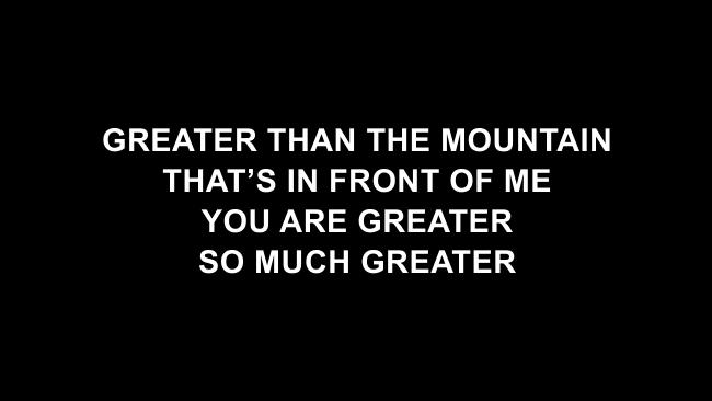 Greater Than Lyric Slides (GATEWAY)