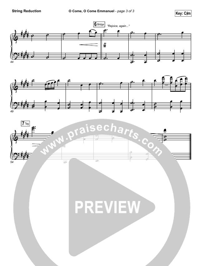 O Come O Come Emmanuel String Pack (Matt Maher)