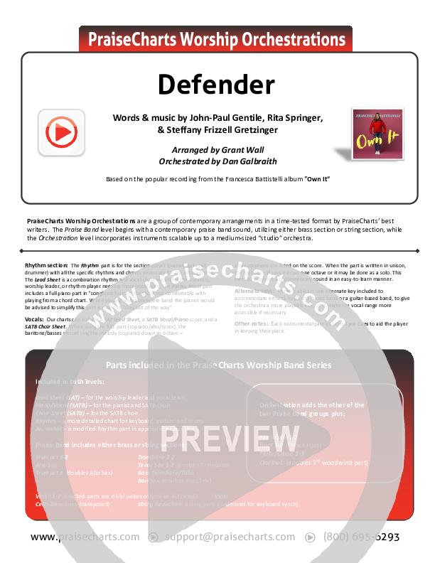 Defender Orchestration (Francesca Battistelli)