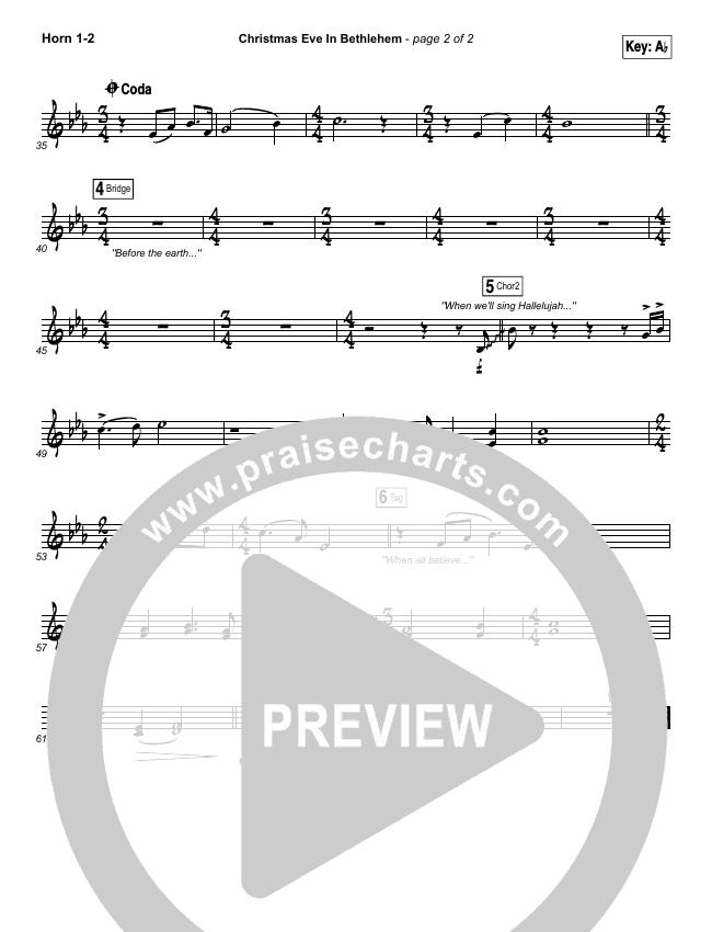 Christmas Eve In Bethlehem Brass Pack (Hannah Kerr)