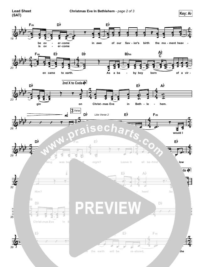 Christmas Eve In Bethlehem Orchestration & Finale (Hannah Kerr)