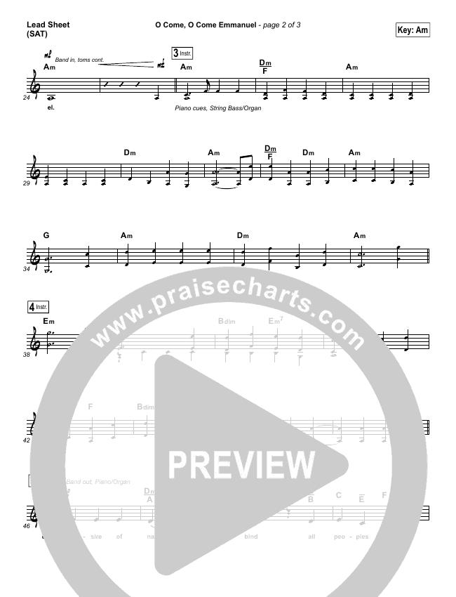 O Come O Come Emmanuel Orchestration & Finale (Lauren Daigle)