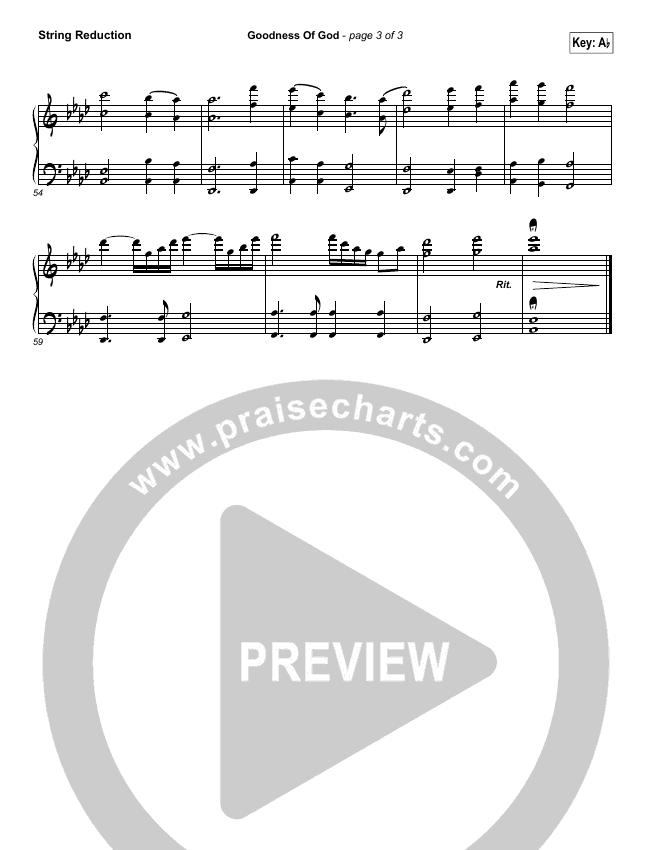 Goodness Of God String Pack (Bethel Music / Jenn Johnson)