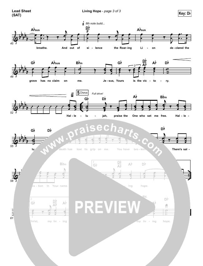 Living Hope Orchestration & Finale (Bethel Music / Brian Johnson / Jenn Johnson)
