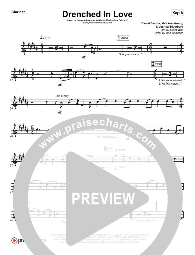 Drenched In Love Wind Pack (Bethel Music / Daniel Bashta / Harvest)