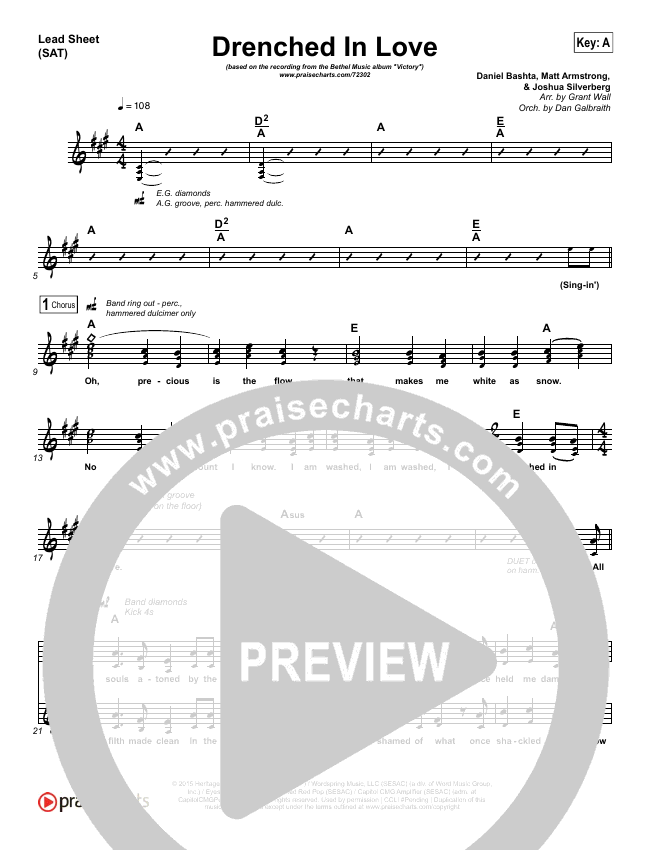 Drenched In Love Orchestration & Finale (Bethel Music / Daniel Bashta / Harvest)