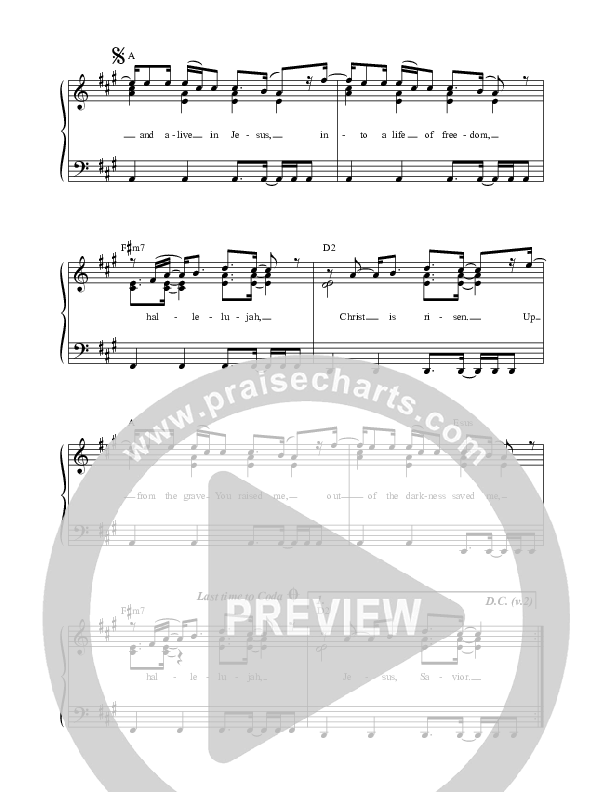 Up And Alive Choir Sheet (SATB) (Luke + Anna Hellebronth)