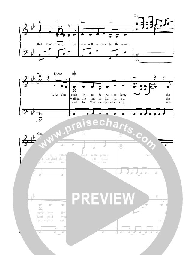Hosanna Choir Sheet (SATB) (Casey J)