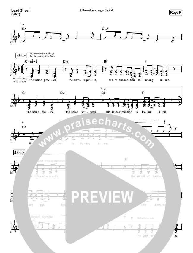 Liberator Lead & Piano (Corey Voss / Madison Street Worship / Annalise Bush)