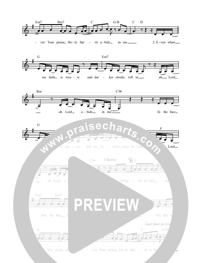 Abide Lead & Piano (Luke + Anna Hellebronth)