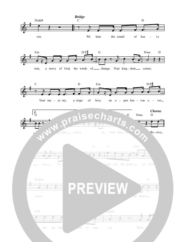 Revive Us (Heavy Rain) Lead & Piano (Luke + Anna Hellebronth)