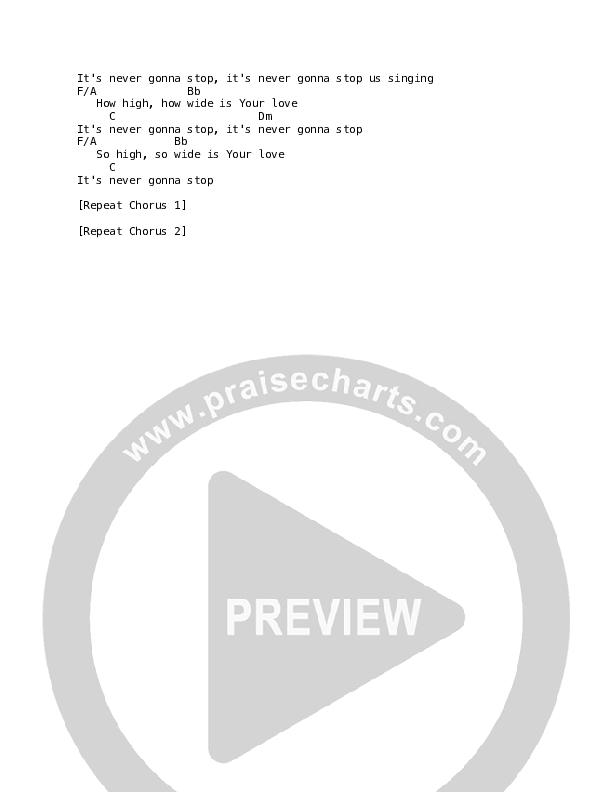 Written In The Skies Chord Chart (Luke + Anna Hellebronth)