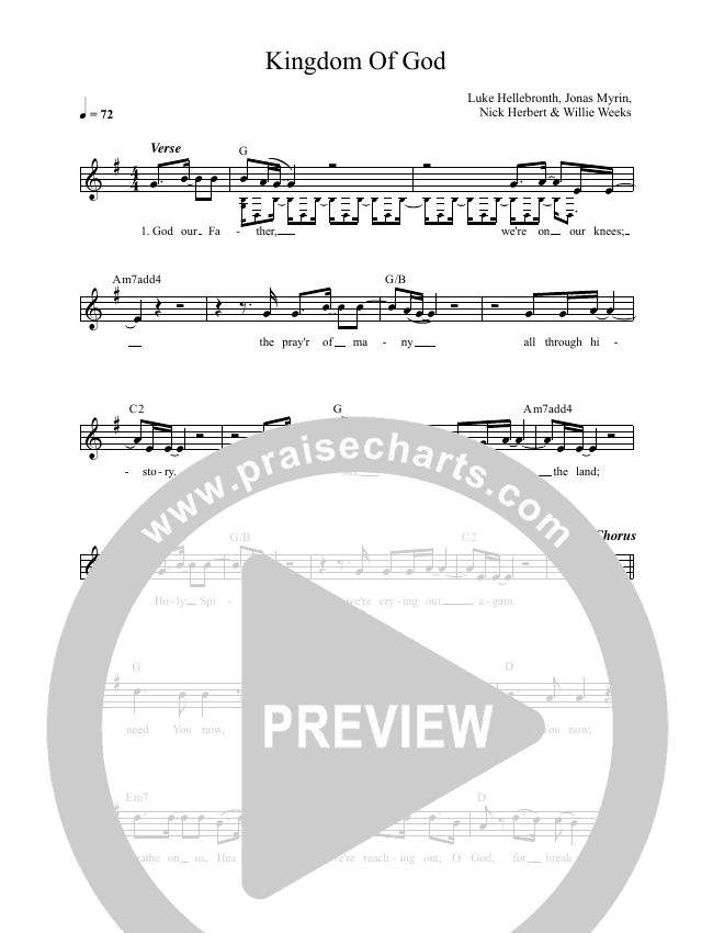 Kingdom Of God Lead & Piano (Luke + Anna Hellebronth)
