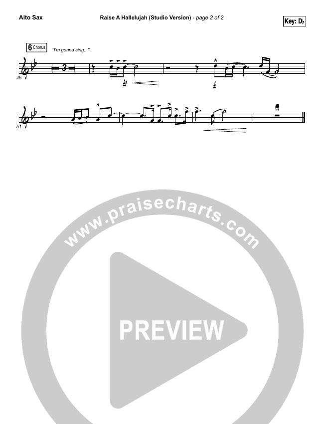 Raise A Hallelujah (Studio) Wind Pack (Bethel Music)