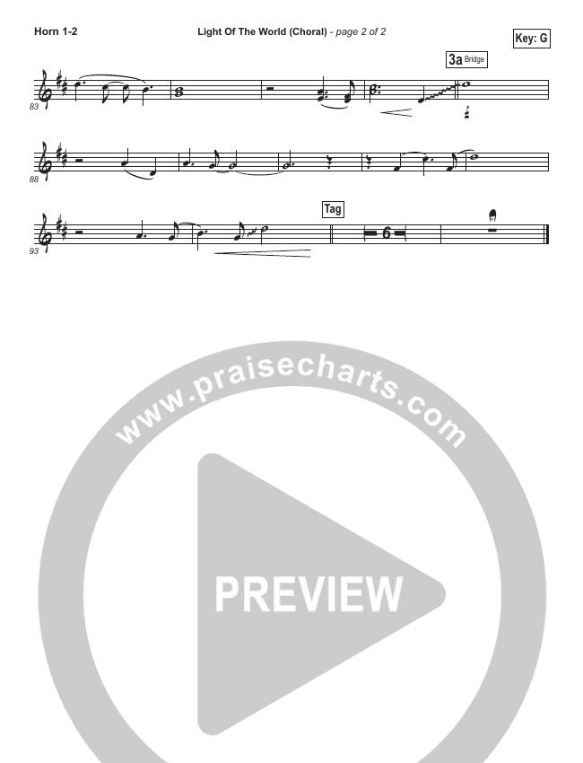 Light Of The World (Choral) Brass Pack (PraiseCharts Choral / Lauren Daigle / Arr. Luke Gambill)