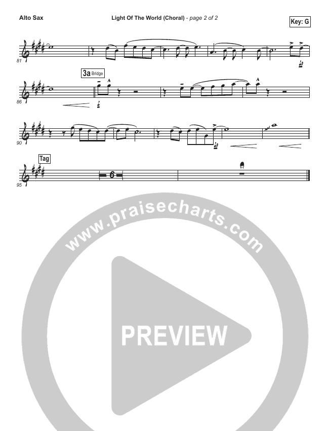 Light Of The World (Choral) Wind Pack (PraiseCharts Choral / Lauren Daigle / Arr. Luke Gambill)