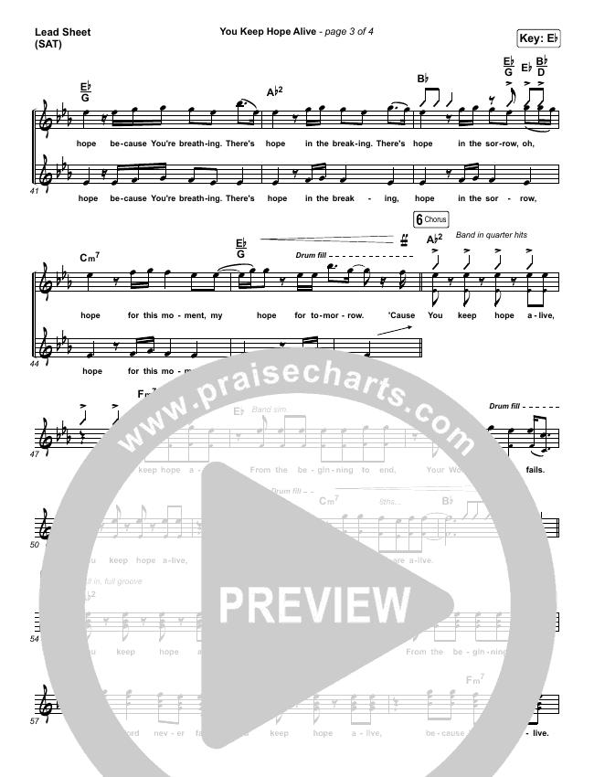 You Keep Hope Alive Orchestration & Finale (Jon Reddick)