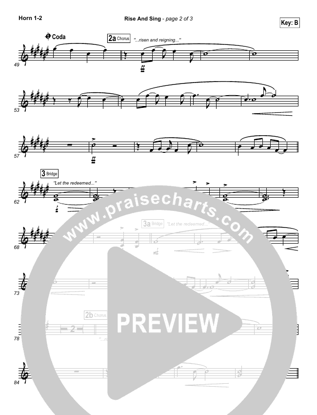 Rise And Sing Brass Pack (FEE Band)