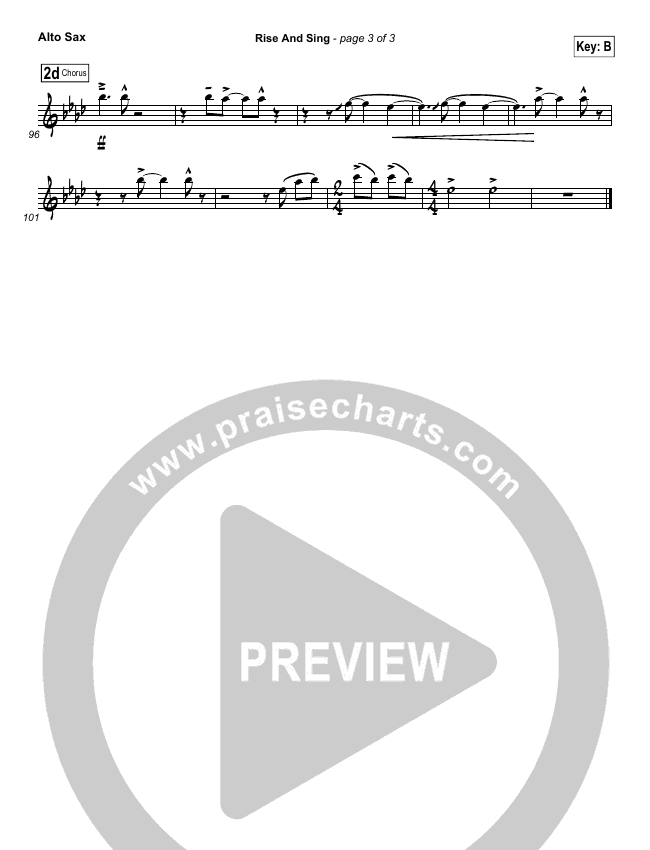 Rise And Sing Wind Pack (FEE Band)