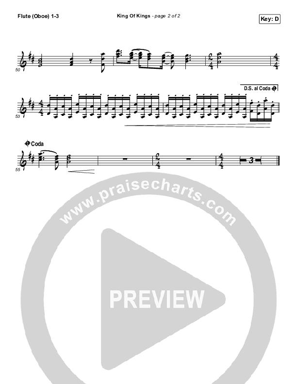 King Of Kings Flute/Oboe 1/2/3 (Hillsong Worship)