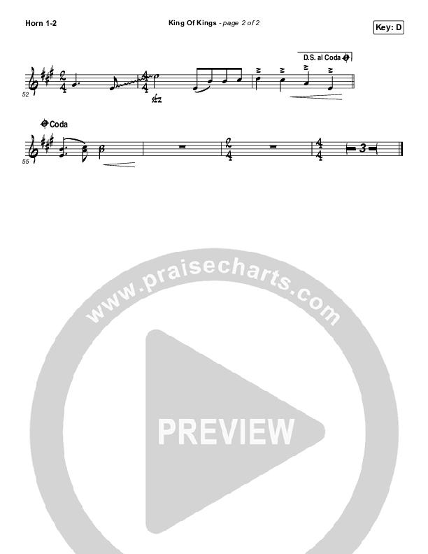 King Of Kings French Horn 1/2 (Hillsong Worship)