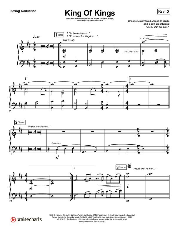 King Of Kings Synth Strings (Hillsong Worship)