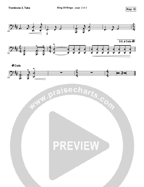 King Of Kings Trombone 3/Tuba (Hillsong Worship)