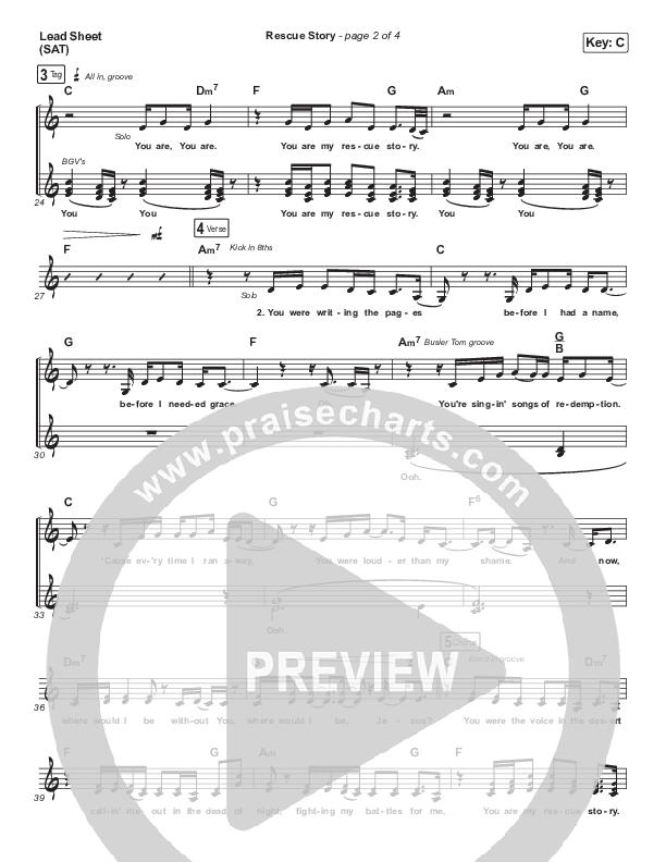 Rescue Story Lead & Piano/Vocal (Zach Williams)