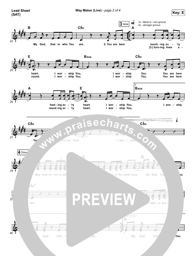 Way Maker (Live) Orchestration & Finale (Leeland)