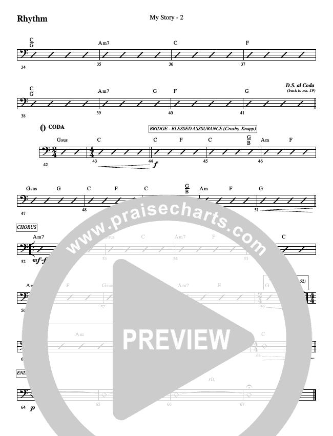 My Story Rhythm Chart (WorshipTeam.tv)