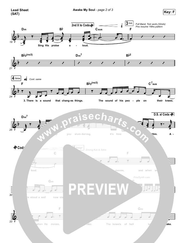 Awake My Soul Lead & Piano/Vocal (Hillsong Worship)