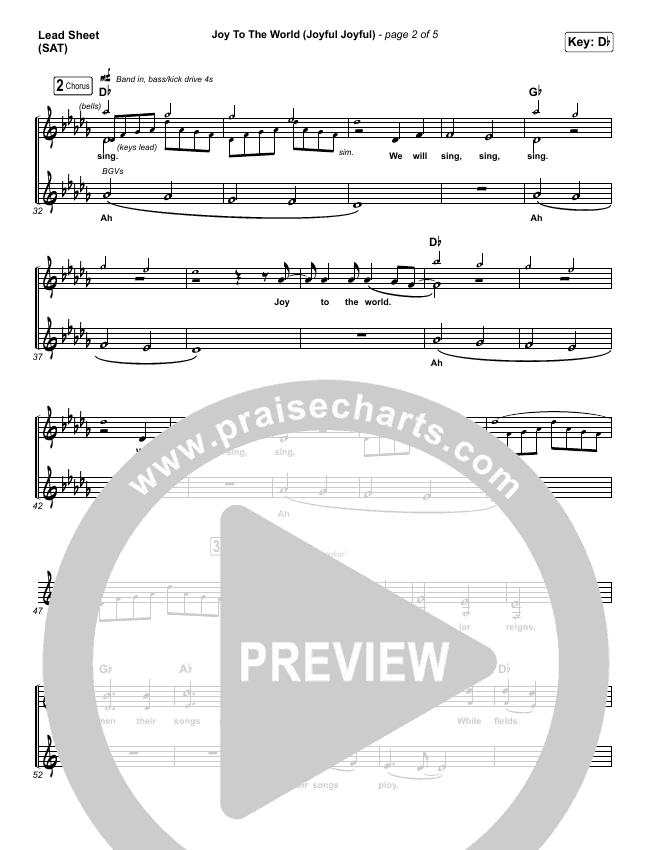 Joy To The World (Joyful Joyful) Orchestration & Finale (Phil Wickham)